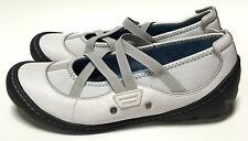 Privo by Clarks White Leather Mary Jane Shoes Size 6M