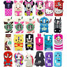 3D Cute Cartoon Soft Silicone Back Rubber Case Cover For LG G2 G2mini C50 K7 K10