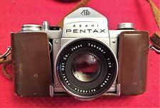 RARE PENTAX AP CAMERA (ORIGINAL PENTAX) w/f/2.4 58mm TAKUMAR LENS MINT CONDITION