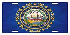 NEW HAMPSHIRE State Flag  Custom License Plate State Emblem Paper Version