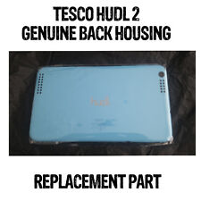 TESCO HUDL 2 BACK HOUSING PLASTIC GENUINE OFFICIAL TURQUOISE GOOD CONDITION