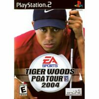 Tiger Woods PGA Tour 2004 - PlayStation 2 (PS2) Game *CLEAN VG