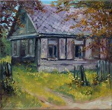 Domek  Original Oil Painting  30x30cm signed Garncarek Al,,