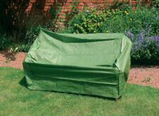 Kingfisher Garden Patio 3 Seater Bench Cover Protection Cover Green