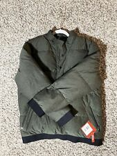 The North Face Men's Down Jacket  Olive Green Size LARGE