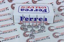 Ferrea Intake Valve + 0.5 oversize QTY8 For 05-12 SUZUKI SWIFT 1.3L DOHC 16V G13