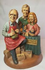 Cairn Studio The World of Tom Clark Figure Autographed Artist Signing 1997 Gnome