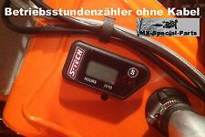 compteur horaire sans câble KTM 125 200 EXC compteur de service, sans câble