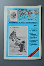 R&L Mag: Picture Postcard Monthly 1988 July Labour Party/Dr Barnado/Paisley