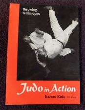 JUDO IN ACTION - Throwing Techniques - Kazuzo Kudo - 1967 First Edition !