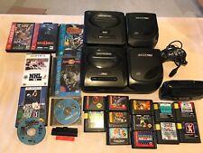 2 Sega CD MK-4102 + Sega Genesis Model 2 Game System Bundle + 32x+ GamesUntested
