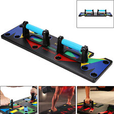 9 in 1  Push Up Bars Handles Pushup Stands Home Gym Fitness Exercise Foam Grips