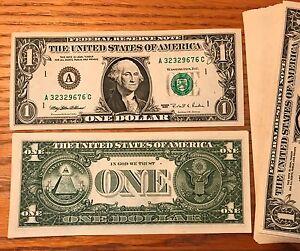 1995 WEB PRESS EXPERIMENTAL $1 NOTES CU NEW GEM FR 1923A BOSTON 1/9  #1804