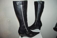 CHAUSSURE BOTTE REQINS CUIR TAILLE 40 LEATHER SHOES/BOOTS/BOTAS/STIVALI