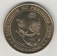 A 2002 TOKEN MEDAILLE SOUVENIR MDP -- 24 260 N°1 SCAPHANDRIER AQUARIUM PERIGORD