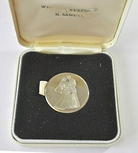 WEDDING GIFT/PRESENT, 32mm CUNi PROOF MEDAL, CASED BY H SAMUEL aFDC