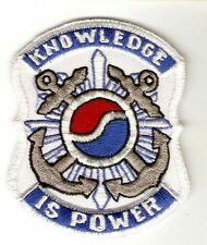 US Army Korea 163rd Military Intelligence Battalion Knowledge is Power 3.5 x 3in