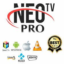 NEO PRO 2 OFFICIEL CODE 12 MOIS (smart tv, box android, m3u) envoi rapide