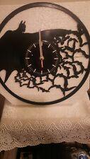 Batman Clock Art Vinyl Record Superhero Wall Decor Symbol