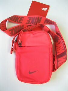 Nike Essentials Hip Pack Small Shoulder Bag Black Swoosh Summer Travel Phone