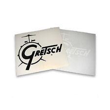 Gretsch Vinyl Bass Drum Sticker, Black