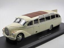 Autocult 10003 - 1937 Opel Blitz LUDEWIG Aero Omnibus bus électricité ligne - 1/43