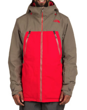 NEW 2017 The North Face Men's LOSTRAIL Jacket Medium Red GORE TEX $349