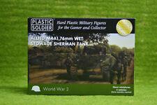 Plastic Soldier Company WW2 ALLIED M4A1 SHERMAN WET TANK 15mm