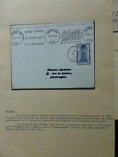 Lettres MAX . FLAMMES . Marques régionales : AUVERGNE . NORD PAS DE CALAIS . 60L