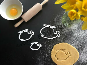 Helicopter Cookie Cutter | Fondant Cake Decorating | UK Seller