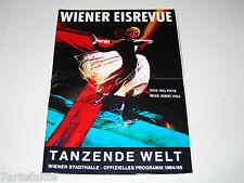 Programmheft, Wiener Eisrevue, Tanzende Welt, 1964/65
