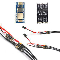 Mini Size 1S/ 2S Brushless ESC con BEC 7A Kit Para RC Airplane High Speed Motor