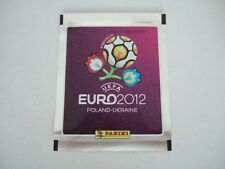 panini euro 2012 1 packet of stickers silver version new