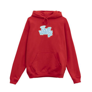 Golf Wang Red 'Little Sh!t Glitter' Hoodie Size M 100% Authentic DEADSTOCK
