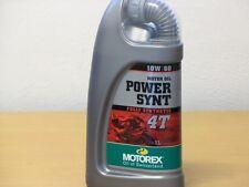 Motorex Power Synt 4T  10W/60 vollsynth 4Taktöl 1 Liter