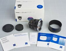 ZEISS PLANAR T* 85MM F1.4 ZF.2 NIKON F mount *Near mint*