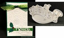Believe words metal die Serendipity Cutting Dies Holidays Christmas 024DD