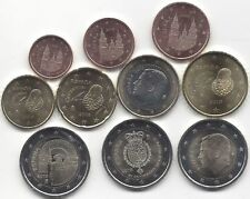 manueduc   ESPAÑA 2018  Serie 8 Monedas  + 2€ Conmemorativa FELIPE VI + SANTIAGO
