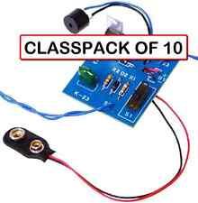 (CLASSPACK OF 10) ELENCO K-23 BURGLAR ALARM DIY KIT AGE 13+ (soldering required)