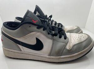 Nike Air Jordan 1 Low Light Smoke Grey 2020 Size UK 9