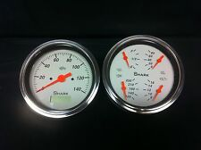 "Shark Gauge 5 "" quad set with programmable speedo STREET ROD HOT ROD, UNIVERSAL"