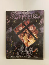 Orpheus: Shades of Gray: Book 3, World of Darkness, White Wolf, RPG Softcover