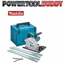 Makita SP6000K1 Plunge Cut Circular Saw 165mm 240v + 2 x 1.4m Guide Rail + Case