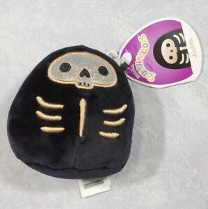 """Squishmallows Kellytoy Judith 4"""" Skeleton Halloween  Plush Toy Stuffed Animal"""