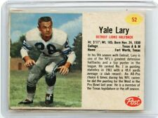 1962 POST CEREAL FOOTBALL #52 YALE LARY, DETROIT LIONS, TEXAS A&M, 091017