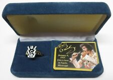 "Elvis Presley Bradford Exchange ""TCB Replica Ring"" ""Size-11"" Brand New With COA!"
