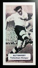 ENGLAND - TOTTENHAM HOTSPUR - ALF RAMSEY - Score UK football trade card