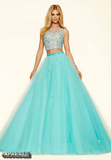 2 piece Quinceanera Dresses Formal Evening Prom Party Ball Gowns Custom Size2-20