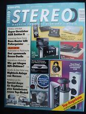 Stereo 4/09 ASR emisor 2, German physiks hrs 120, maestro line asennheiser HD 80,