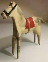 Antique-Wood-Horse-BRIO-Sweden-dala-horse-folk-art